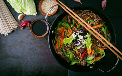 Vegetar Sesame Wok